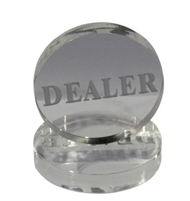 Picture of 10807-Clear Jumbo Button ''Dealer""