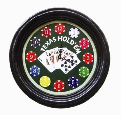 Picture of r171-Texas Hold'Em Clock