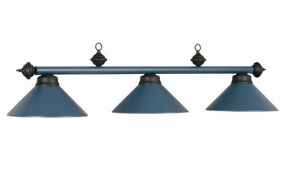 Picture of 61012- Billiard lamp full metal shade ''Blue''