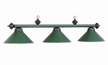 Picture of 61013- Billiard lamp full metal shade ''Green''