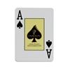 Image sur Jeu de cartes 100% plastique -Ovalyon / Jumbo / NOIR