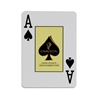 Image sur Jeu de cartes 100% plastique -Ovalyon / Jumbo / ROUGE