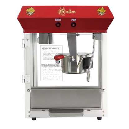 Picture of L171150-Popcorn machine of 4oz. tabletop USED-LIKE NEW