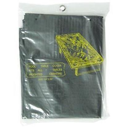 Image de Housse de protection en plastics pour billard 9' NOIR