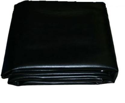 Image de Housse de protection  Noire en cuire pour billiard 8'