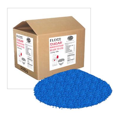 Picture of 72052-Cotton Candy Floss Blue Raspberry Bulk 50lb
