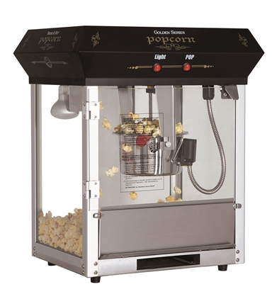 Picture of 71160-Popcorn machine of 4oz. tabletop Black