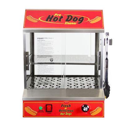 Image de 77300 *Nouvelle* Machine à hot-dogs vapeurs BullsEye