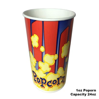 Image de Popcorn Cup  1oz / 40pcs