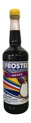 Image de 73023- Sirop à cônes glacés saveur raisin 1L