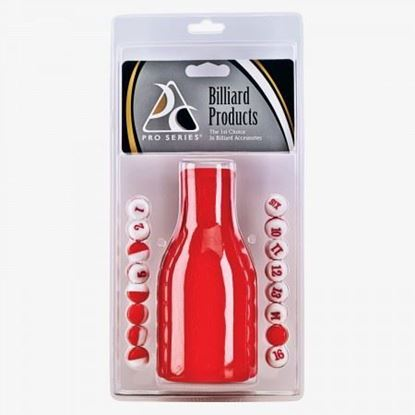 Picture of 50701- Plastic Tally Bottle in Clam Pack