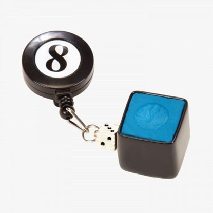 Picture of 50208 - Retractable 8-Ball Chalk Holder & Belt Cli