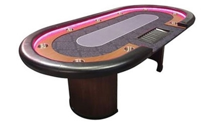 Picture of Poker table LED with Dealer 96