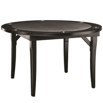 "Picture of FLDGTBL-BLK  - 48"" WOODEN FOLDING GAME TABLE BLACK"