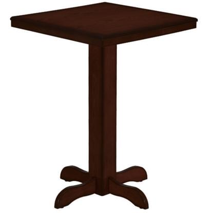 Picture of BPUB2 CAP | SQUARE PUB TABLE - CAPPUCCINO