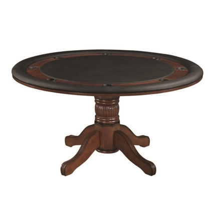 "Picture of GTBL60 CN | 60"" 2 IN 1 GAME TABLE - CHESTNUT"