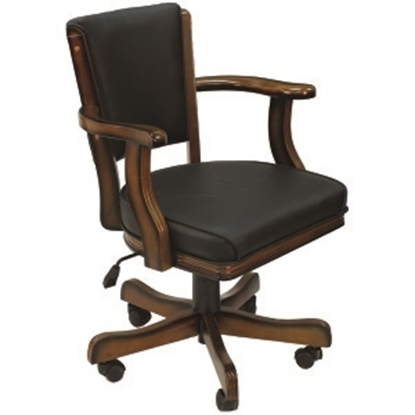 Picture of GCHR2 CN | SWIVEL GAME CHAIR - CHESTNUT