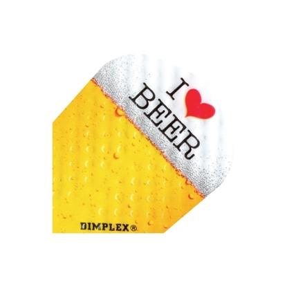 Image de 40040-Set of 3 Flights Dimplex I Love Beer