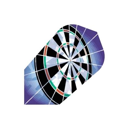 Image de 40043-Set of 3 Flights Hologram Dartboard