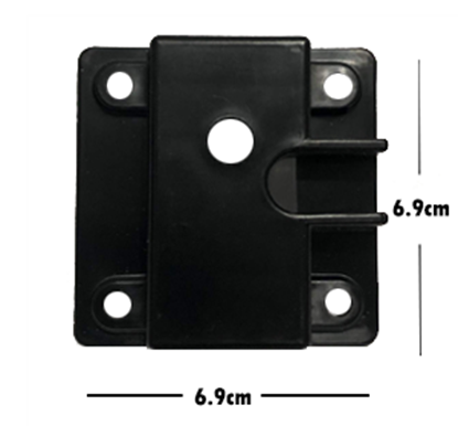 Picture of 71821-Gear Plate receiver  for popcorn machine( 6.9cm x 6.9cm) |  16oz