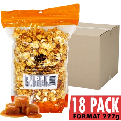 Picture of 69011-18 Pack of 18 Caramel popcorn bag 227g