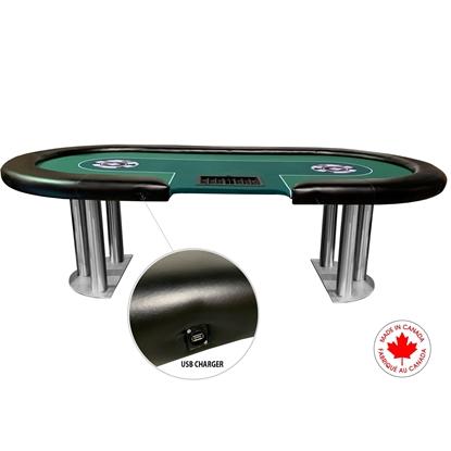 Picture of Custom Poker Table Dealer Standard USB